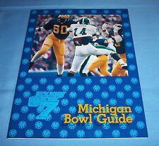 Michigan Wolverines 1984 Holiday Bowl Football Media Guide Rare