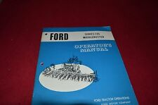 Ford Tractor 135 Middlebuster Operator's Manual CHPA