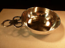 CURRIER & ROBY STERLING SILVER PORRINGER SHREVE CRUMP LOW HULL & SANDERSON 1655