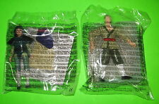 2 McDonald's Mulan Shang-Li Soldier Disney Happy Meal Toy Doll Figures 1998 MIP