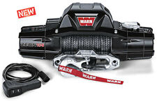 WARN 89611 ZEON 10-S 10000 lb Premium Series Winch Hawse Fairlead 100' Synthetic