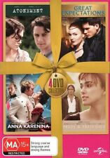 Atonement / Great Expectations / Anna Karenina / Pride and Prejudice NEW R4 DVD