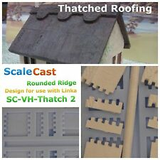 Linka Compatible Thatched Roofing Style 2 Mould - Mould - 00 Scale