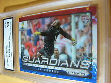 TIM HOWARD 2014 PRIZM FIFA WORLD CUP GUARDIANS RED WHITE BLUE PRIZM GRADED 10