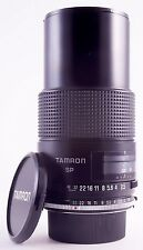 TAMRON SP 5288 90mm F/2.5 MACRO LENS ADAPTALL 2 FOR MINOLTA MD 35mm FILM SLRs