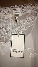 Temperley London Laser Cut Out Blouse Top New With Tags Size 8