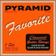 PYRAMID Favorito 4/4 Konzert Guitarra Cuerdas KIT, Classical JUEGO