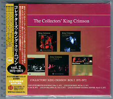 King Crimson, Collectors' King Crimson Box 2 (1971-1972) (Box Set 8 CD_Japan)