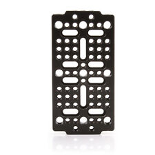 "Multi-purpose 1/4"" 3/8"" Thread Cheese Mounting Plate for DSLR Rig Cage Dovetail"
