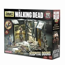Le jeu de construction Walking Dead-Atlanta hôpital portes McFarlane-en stock