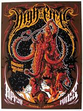 HIGH ON FIRE KUNSTDRUCK # 2 VON MIKE SAPUTO - POSTER