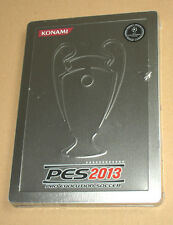 PES 2013 Pro Evolution Soccer Steelbook no game very Rare new and sealed Konami
