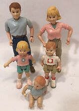 Loving Family 1999 Fisher Price Nice Condition' Mom Dad Girl Boy Baby