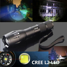 3500 LM Super Bright XM-L2 T6 LED Torch Zoomable Military Flashlight Lamp UK HOT