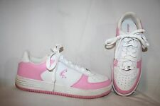 Shaq Women's Sneakers Size 11 White Pink Basketball Tennis Shoes