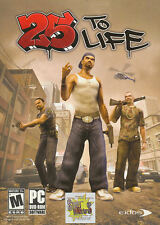 25 TO LIFE Eidos Street Gang Urban Shooter Action PC Game - RARE NEW BOX!