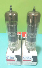 2 Date Matching Lindal 6EM5  Vacuum Tubes Tested New On Calibrated Hickok !!