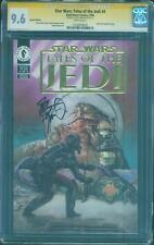 Star Wars Tales of Jedi 4 CGC SS 9.6 Dave Dorman Special Ed Gold Foil no 8
