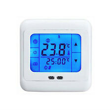 24v Volt Smart Underfloor Touch Screen Heating Thermostat with Floor& Air Sensor