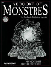 YE BOOK OF MONSTRES VF! Monster Manual Monstrous Call of Cthulhu COT Lovecraft