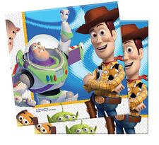 TOY STORY CHILDRENS BIRTHDAY PARTY PACK OF 20 NAPKINS NEW