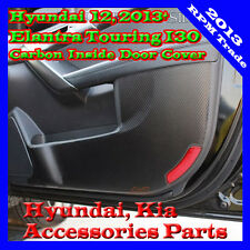 Carbon Protect Inside Door Guard Cover For 12~2015+ Hyundai Elantra Touring GT