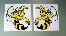 Hornet Honda Bees Decals / Stickers (Design #2)