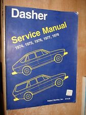 1974-1978 VOLKSWAGEN DASHER SERVICE MANUAL SHOP BOOK ORIGINAL 76 77 75 REPAIR