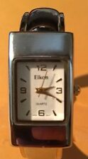 EIKON CUFF BRACELET WATCH   New Battery