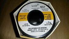 Kester 285 Rosin Core Solder one 1LB Roll .031 p/n 24-7317-9713 New SN10PB88AG02