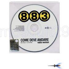 """883 MAX PEZZALI """"COME DEVE ANDARE"""" RARO CDsingolo PROMO"""