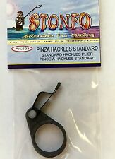 STONFO SOFT TOUCH RING HACKLE PLIERS. FLY TYING TOOL.  New