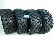"New Polaris Sportsman 500 MASSFX KT 25"" ATV Tires 25x8-12 25x10-12 Set 2002-2013"