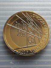 2008*UNC*LONDON OLYMPIC CENTENARY  £2 TWO POUND COIN