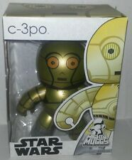 "Star Wars C-3PO Protocal Droid Mighty Muggs 6"" Vinyl Figure BRAND NEW in Box"