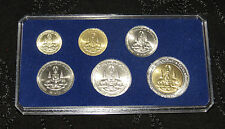 King Bhumibol Adulyadej 50th Year Reign Jubilee 1996 Rama IX Thailand 6 Coin Set