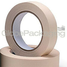 2 Rolls Of Masking Tape 25mm x 50M Painting Scotch Tape