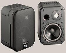 2 JBL Control One estante altavoces (negro) nuevo comercio especializado