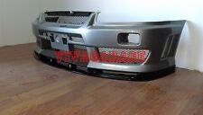 Nissan Skyline R34 Spec E Fiberglass Front lip for Factory Aero Bar ONLY
