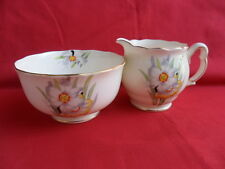 Royal Albert Narcissus, Milk Jug & Sugar Bowl (from the Teaset)