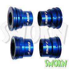 Apico Front & Rear Wheel Spacers KTM 125 200 250 300 350 400 450 EXC 04-15 Blue