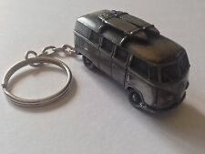 VW Van (Split Screen) W/ Surf Boards ref293 FULL CAR on split-ring keyring