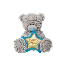 Douglas Cuddle Toys 6'' Plush TATTY TEDDY Birthday Bear With Blue Star ~NEW~