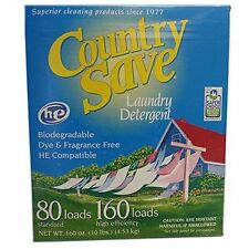 "Gentle Powder Soap Laundry Detergent, ""Country Save ""10lbs 160 Load"