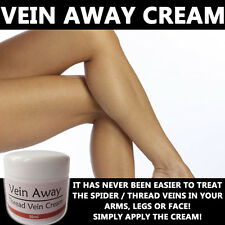 VEIN AWAY CREAM LOTION MAX STRENGTH TREATMENT ANTI THREAD VEIN SPIDER VEIN