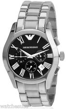 Emporio Armani Classic Chronograph Black Dial Men's Watch AR0673