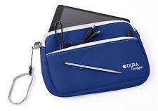 Case For Jay-Tech Tablet PC PID 7901 - Blue Water Resistant Neoprene With Pocket