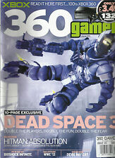 X BOX MAGAZINE, 360 GAMER   ISSUE, 120  ( 10 PAGE EXCLUSIVE  DEAD SPACE 3 )