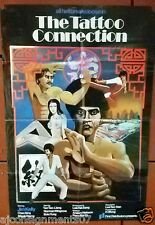 The Tattoo Connection (Jim Kelly) Kung Fu Org. HK Movie Poster 70s