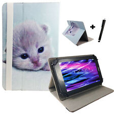 10.1 zoll Motiv Tablet Tasche Hülle Case Etui - Acer Iconia Tab A200 - Katze 10